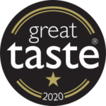 great taste award logo won by small giants
